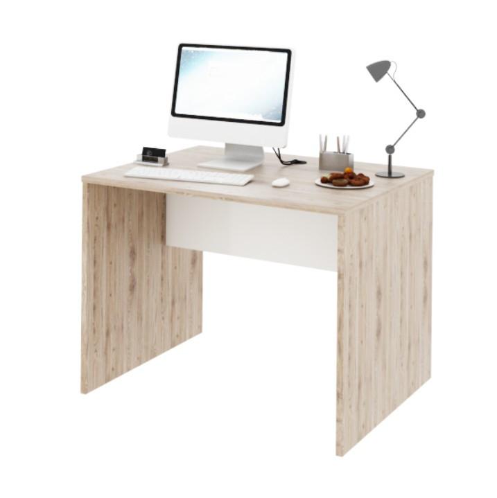 Tempo Kondela PC stůl Rioma TYP 12 - san remo / bílá + kupón KONDELA10 na okamžitou slevu 3% (kupón uplatníte v košíku)