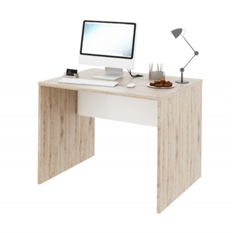 PC stůl Rioma TYP 12 - san remo / bílá