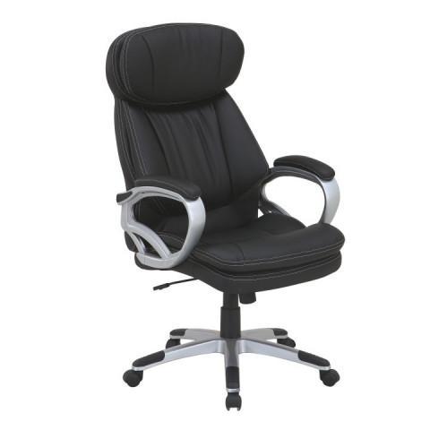 Kancelářské křeslo ROTAR - černá ekokůže