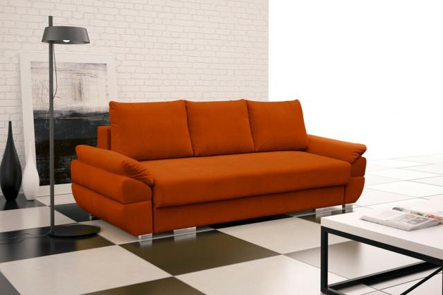 Pohovka Berenika - oranžová
