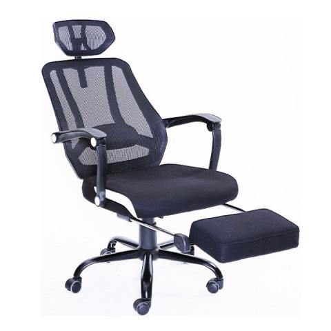 Kancelářská židle SIDRO - černá síťka / černá