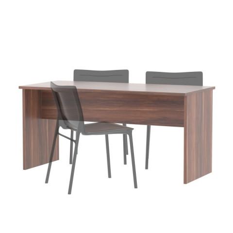 Kancelářský stůl oboustranný JOHAN NEW 08 - švestka