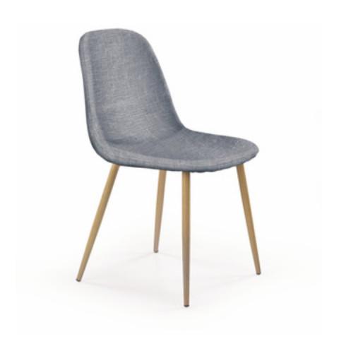 Židle LEGA - světlešedá