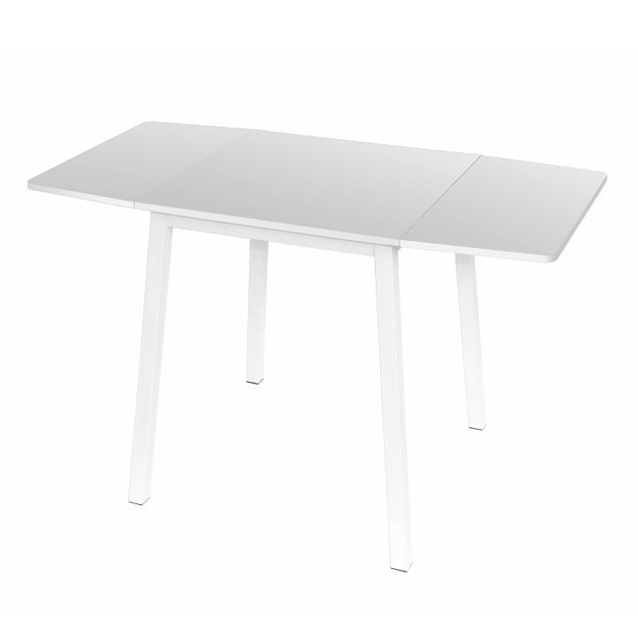 Tempo Kondela Rozkládací jídelní stůl MAURO - bílý + kupón KONDELA10 na okamžitou slevu 3% (kupón uplatníte v košíku)