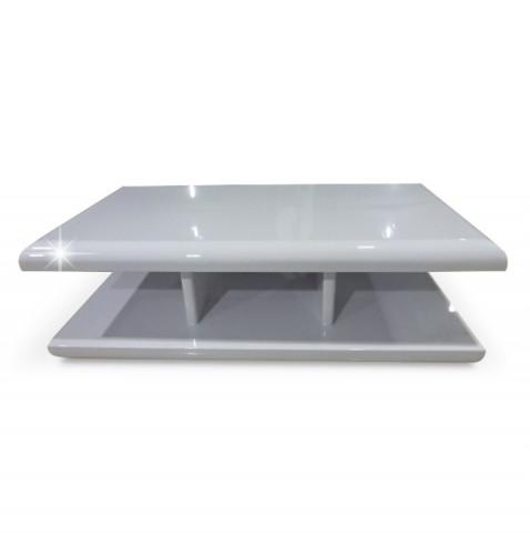 Konferenční stolek KARIM - bílý lesk