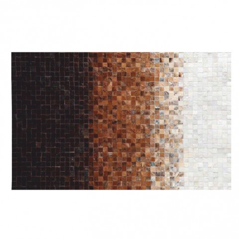 Luxusní koberec KOŽA typ7 120x180 - typ patchworku