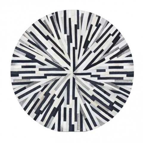 Luxusní koberec KOŽA typ8 200x200 - typ patchworku