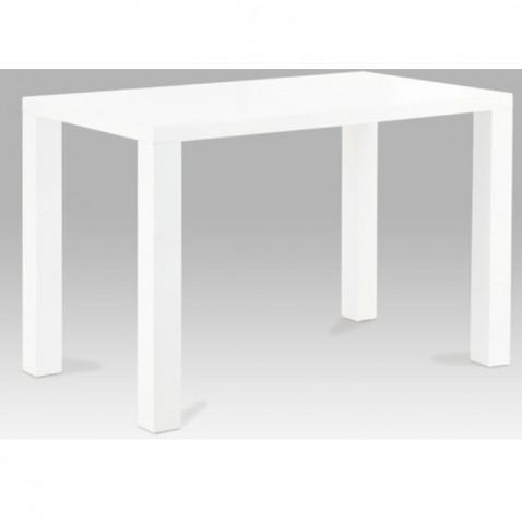 Jídelní stůl ASPER 120 - bílá lesk