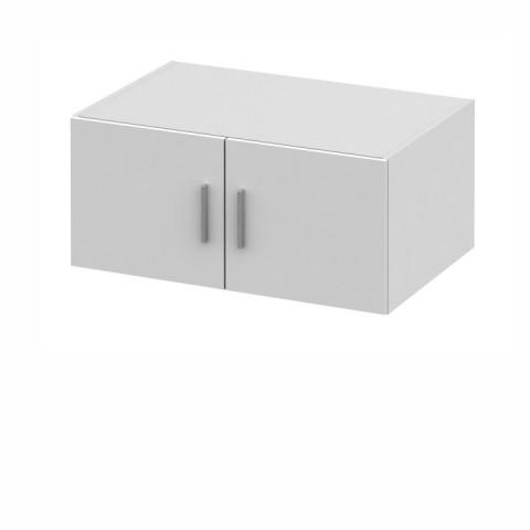 Nástavec na skříň INVITA typ 9 - bílá