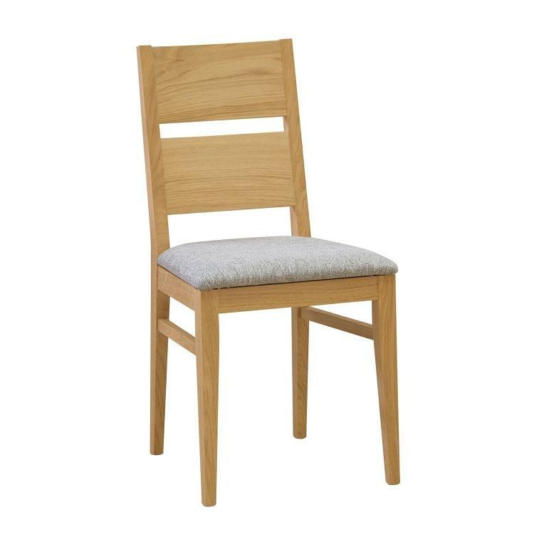 Jídelní židle Orly čalouněná - masiv dub