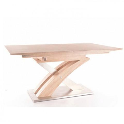 Jídelní rozkládací stůl BONET - dub sonoma