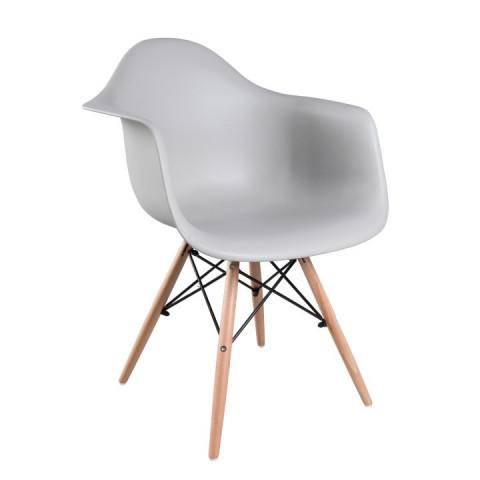 Židle DAMEN -šedá