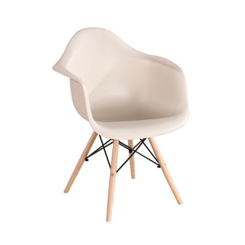 Jídelní židle DAMEN - béžová cappuccino