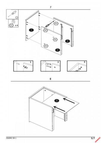 Noční stolek Eskimo SN-1 č.6