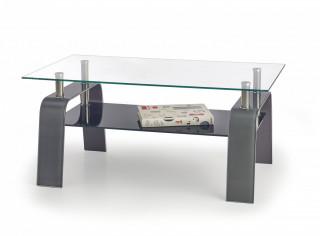 Konferenční stolek Naomi - šedý