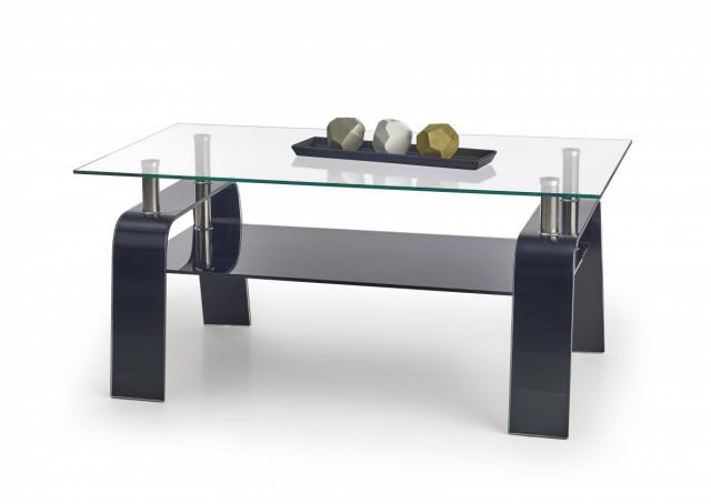 Konferenční stolek Naomi - černý
