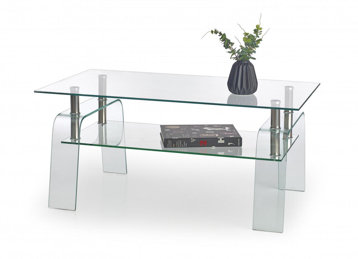 Halmar Konferenční stolek Naomi šedý