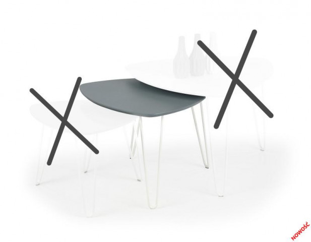 Konferenční stolek Nikita 2 č.2
