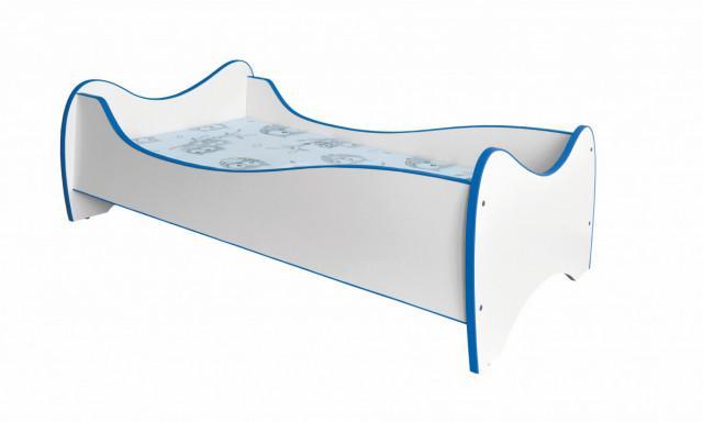 Dětská postel Duo - modrá