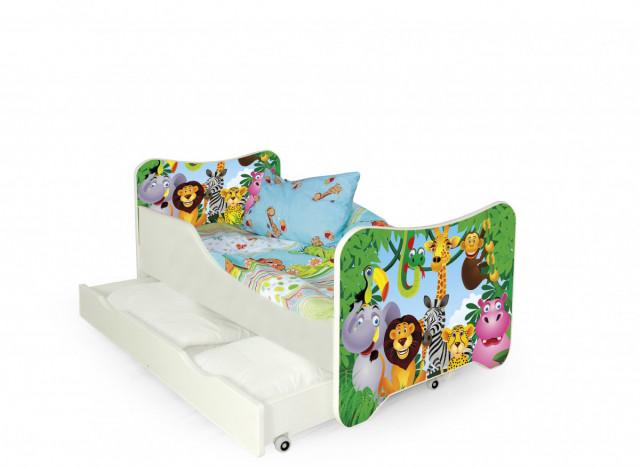 Dětská postel Happy Jungle č.1