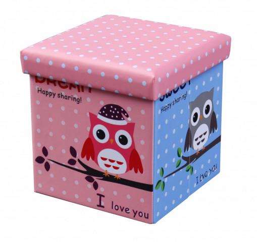 Taburet Moly Owl (sova) č.1