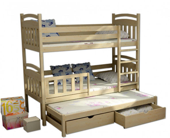 Patrová postel s přistýlkou PPV 001