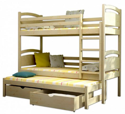 Patrová postel s přistýlkou PPV 002