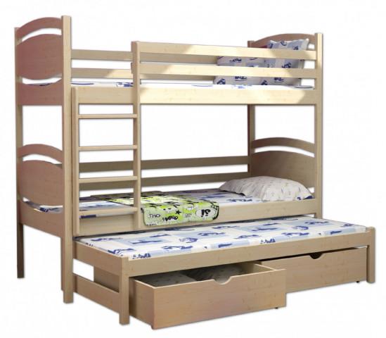Patrová postel s přistýlkou PPV 003