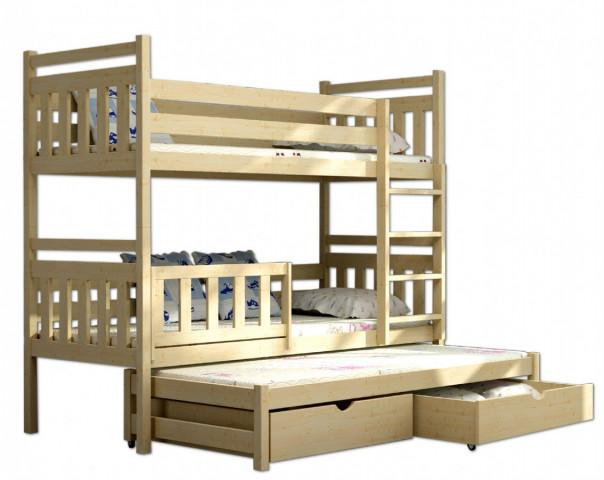 Patrová postel s přistýlkou PPV 004