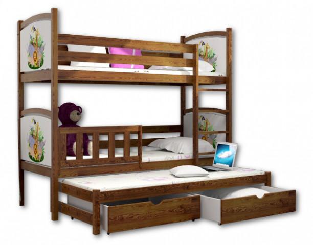 Patrová postel s přistýlkou PPV 005