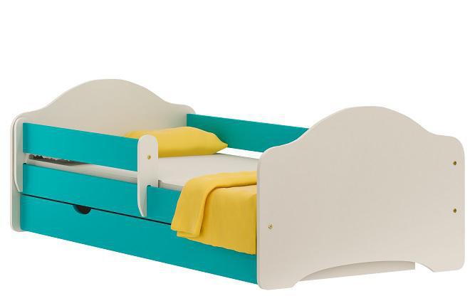 Vomaks Dětská postel EKVA 22 + MATRACE - 2202/80