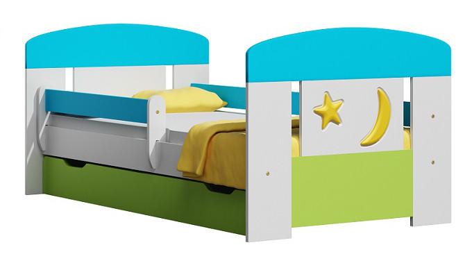 Vomaks Dětská postel SUN 20 + MATRACE - 2256/80