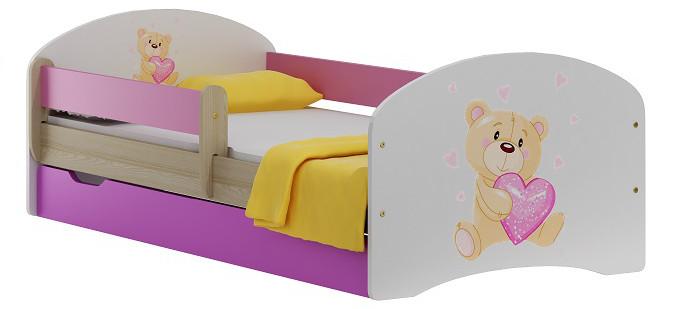 Vomaks Dětská postel CANDY 20 + MATRACE - 2328/94