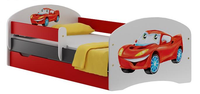 Vomaks Dětská postel SPEED 20 + MATRACE - 2751/83