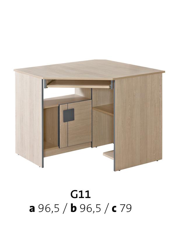 Vomaks Psací stůl DINO G11 - 3132/DUB