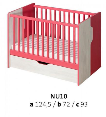Postýlka BABY NU10