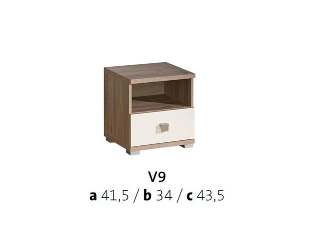 Noční stolek VICENTE V9