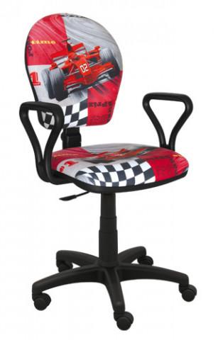 Dětská židle MENT F1 ČERVENÁ