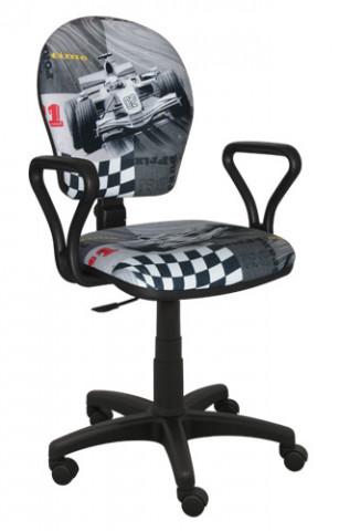 Dětská židle MENT F1 ŠEDÁ