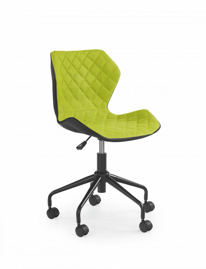 Halmar Dětská židle Matrix zelená