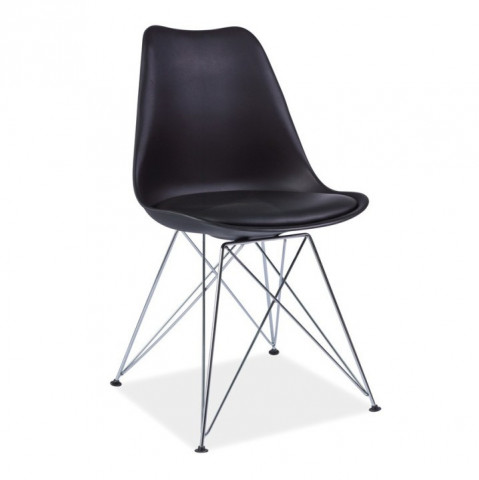 Židle METAL NEW - černá