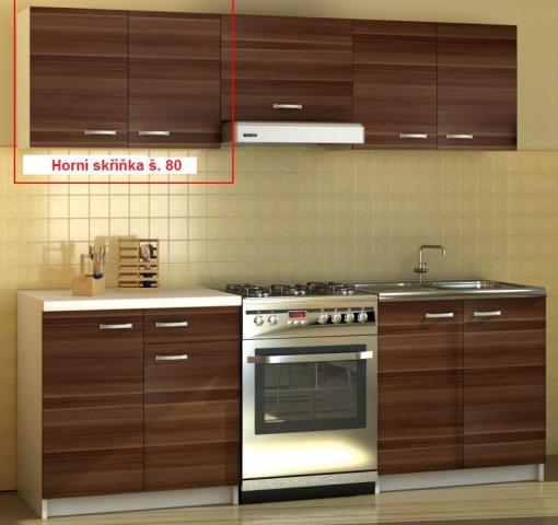 Kuchyňská skříňka Sonia - horní skříňka šíře 80 cm