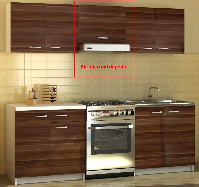 Kuchyňská skříňka Sonia - horní skříňka digestořová
