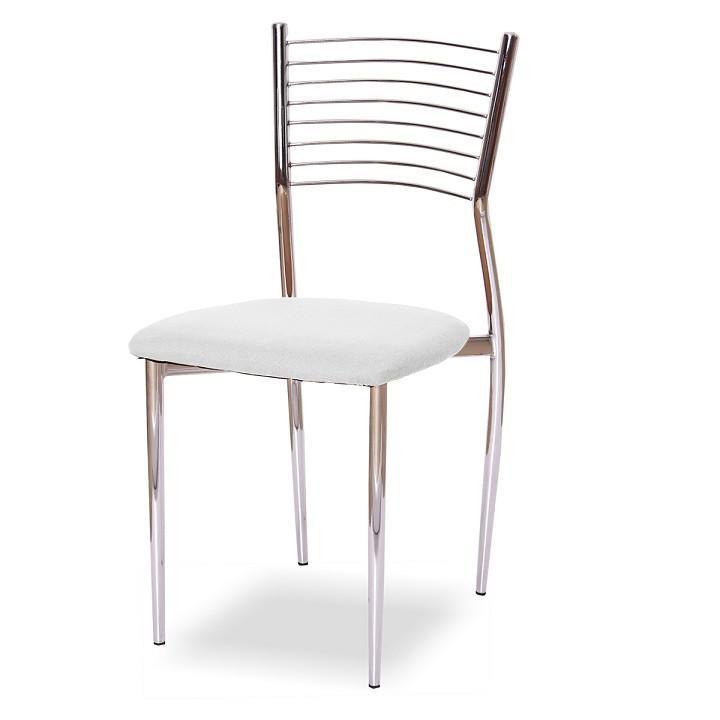 Tempo Kondela Židle ZAIRA - bílá ekokůže + kupón KONDELA10 na okamžitou slevu 3% (kupón uplatníte v košíku)