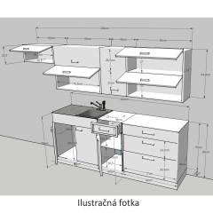 Kuchyňská linka JURA NEW I č.8
