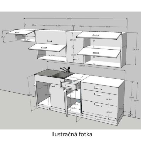 Kuchyňská linka JURA NEW I č.2