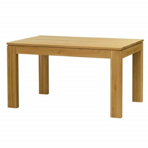 Jídelní stůl DM 016 dub masiv - rozkládací