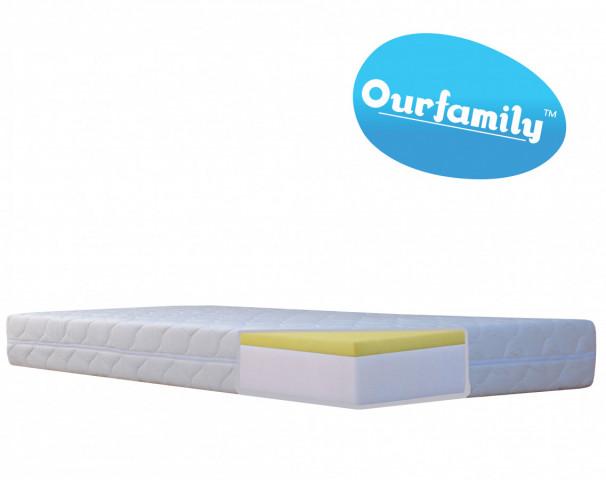 Pěnová matrace SARA VISCO Ourfamily - 80x200