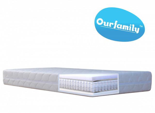 Taštičková matrace MAX Ourfamily - 200x80