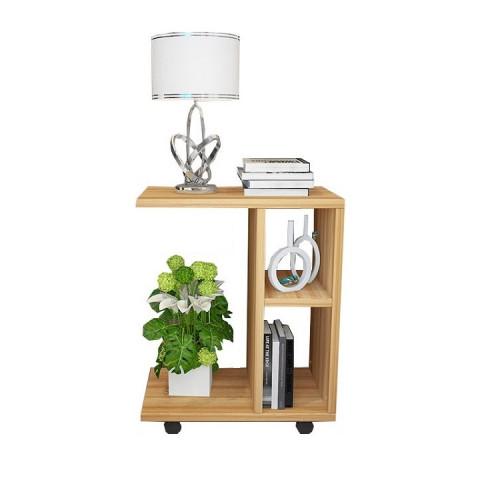 Příruční stolek ABBAS - dřevo borovice